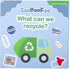 Магнитна книжка - Уча се да рециклирам -