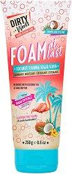 Dirty Works Coconut Foaming Sugar Scrub - паста за зъби