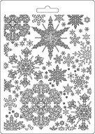 Силиконови форми за моделиране - Снежинки