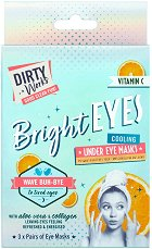 Dirty Works Bright Eyes Cooling Under Eye Masks -