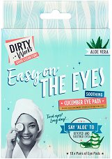 Dirty Works Easy On The Eyes Cucumber Eye Pads - продукт