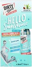 Dirty Works Hello Sunshine Gradual Tanning Drops - олио