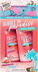 Dirty Works Bubble in Paradise Tropical Collection - несесер