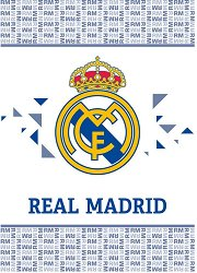 Бебешко одеяло - ФК Реал Мадрид -