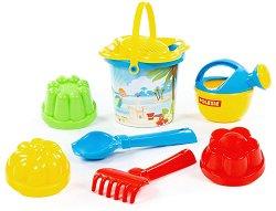 Комплект за игра с пясък - играчка
