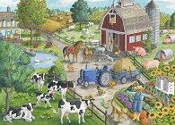 Къща в полето - пъзел