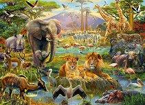 Животни от саваната - пъзел
