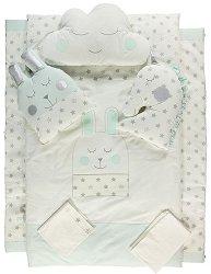 Бебешки спален комплект от 7 части -