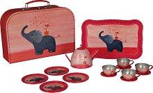 Чаен сервиз в куфарче - Слонче -