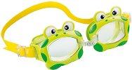 Детски очила за плуване - Жаби - играчка