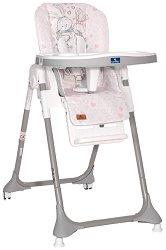 Детско столче за хранене - Felicita 2021: Pink Rabbits -