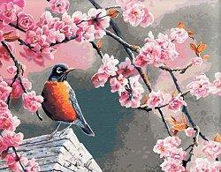 Рисуване по номера с акрилни бои - Синигер