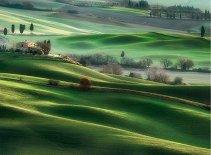 Хълмовете на Тускана - пъзел
