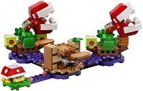 LEGO: Super Mario - Предизвикателство с растенията пирани - играчка
