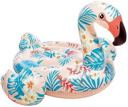 Надуваемо кресло - Тропическо фламинго -