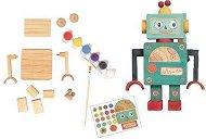 Оцвети сам - Дървен робот -