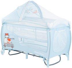 Сгъваемо бебешко легло на две нива - Dolce Sonno Plus -