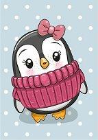 Пингвинче с панделка