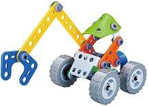 Детски конструктор - Багер с щипка -