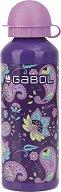 Детска алуминиев бутилка- Gabol: Pranah 500 ml -