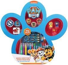 Детски комплект за оцветяване - Пес патрул - продукт