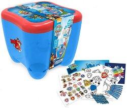 Детски комплект за оцветяване - Пес патрул - творчески комплект