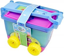 Детски комплект за оцветяване - Пепа Пиг - творчески комплект