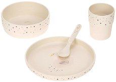 Детски комплект за хранене - Little Water: Swan -