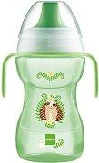 Неразливаща се чаша с твърд накрайник и дръжки - Fun to Drink Cup 270 ml -