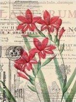 Декупажна хартия - Орхидеи