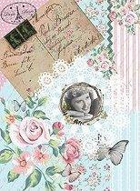Декупажна хартия - Любовно писмо