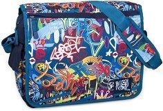 Ученическа чанта - Reilly Graffiti -