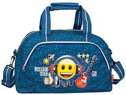 Пътнически сак - Emoji Rock Star -
