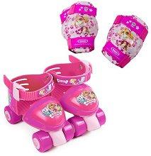 Детски регулируеми ролкови кънки - Скай -
