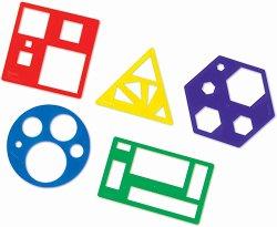 Шаблони за рисуване - Геометрични форми -