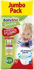 Babylino Sensitive Pants Unisex - Maxi 6 - продукт
