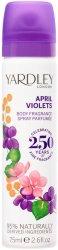 Yardley April Violets Body Spray -