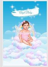 Angel Baby: Дневник за първата годинка на бебето - Момиче -