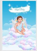 Angel Baby: Дневник за първата годинка на бебето - Момче -