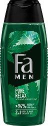 Fa Men Pure Relax Body & Hair Shower Gel - червило