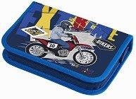 Несесер с ученически пособия - Motorbike -