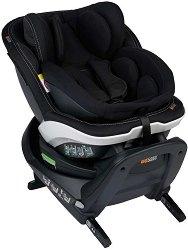 Детско столче за кола - iZi Turn B i-Size: Premium Car Interior Black -