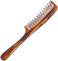 Ръчно изработен гребен за коса с дръжка -