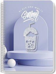 Ученическа тетрадка - Black and Gold Формат А4 с широки редове -