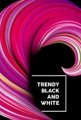 Ученическа тетрадка с твърда корица - Trendy Формат А4 с широки редове -