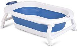 Сгъваема бебешка вана за къпане с изход за оттичане - Siren -