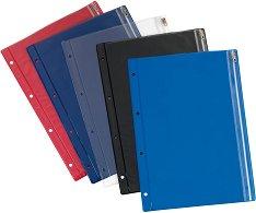 Цветни джобове за документи с ципове