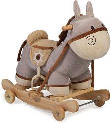 Детска дървена люлка - Магаренцето Дулсинея -