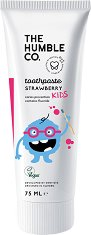The Humble Co Kids Strawberry Toothpaste -
