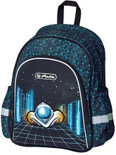Раница за детска градина - Softbag: Space Car -
